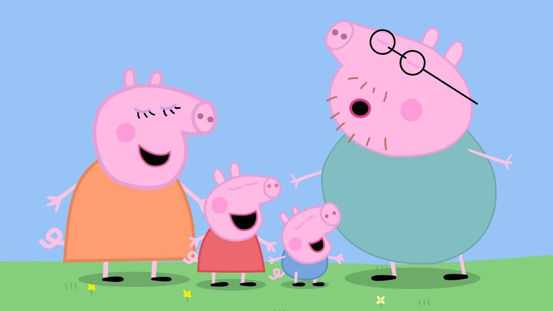 手绘动画-小猪佩奇